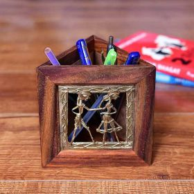 Triangular Pen Stand ( Detachable & Magnetic )