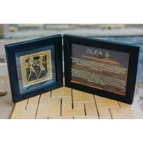 Photo Frame One Folds Antique
