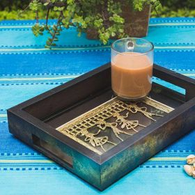 Wooden Ethnic Tray