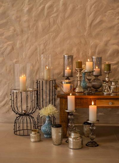 Light up your Space with Candles